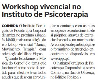 In Diário de Coimbra, edição de 19 de Janeiro de 2017