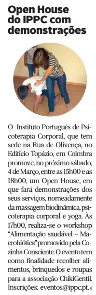 In Diário de Coimbra, edição de 1 de Março de 2017