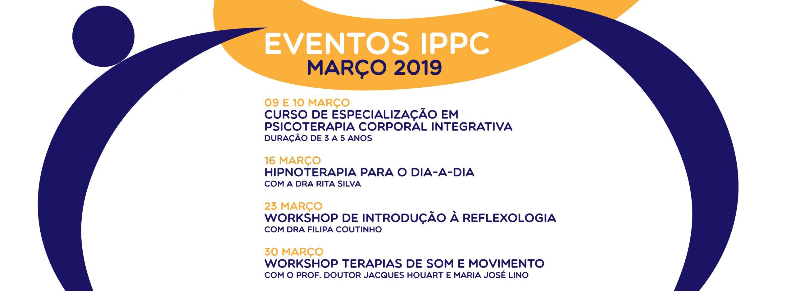eventos março 2019