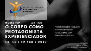 Workshop | O corpo como protagonista experienciador @ Rua de Olivença
